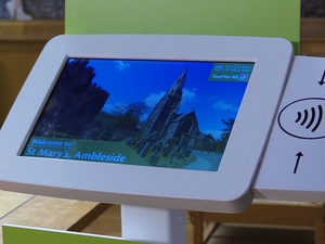 Diocese of Carlisle pilots national church contactless donation scheme